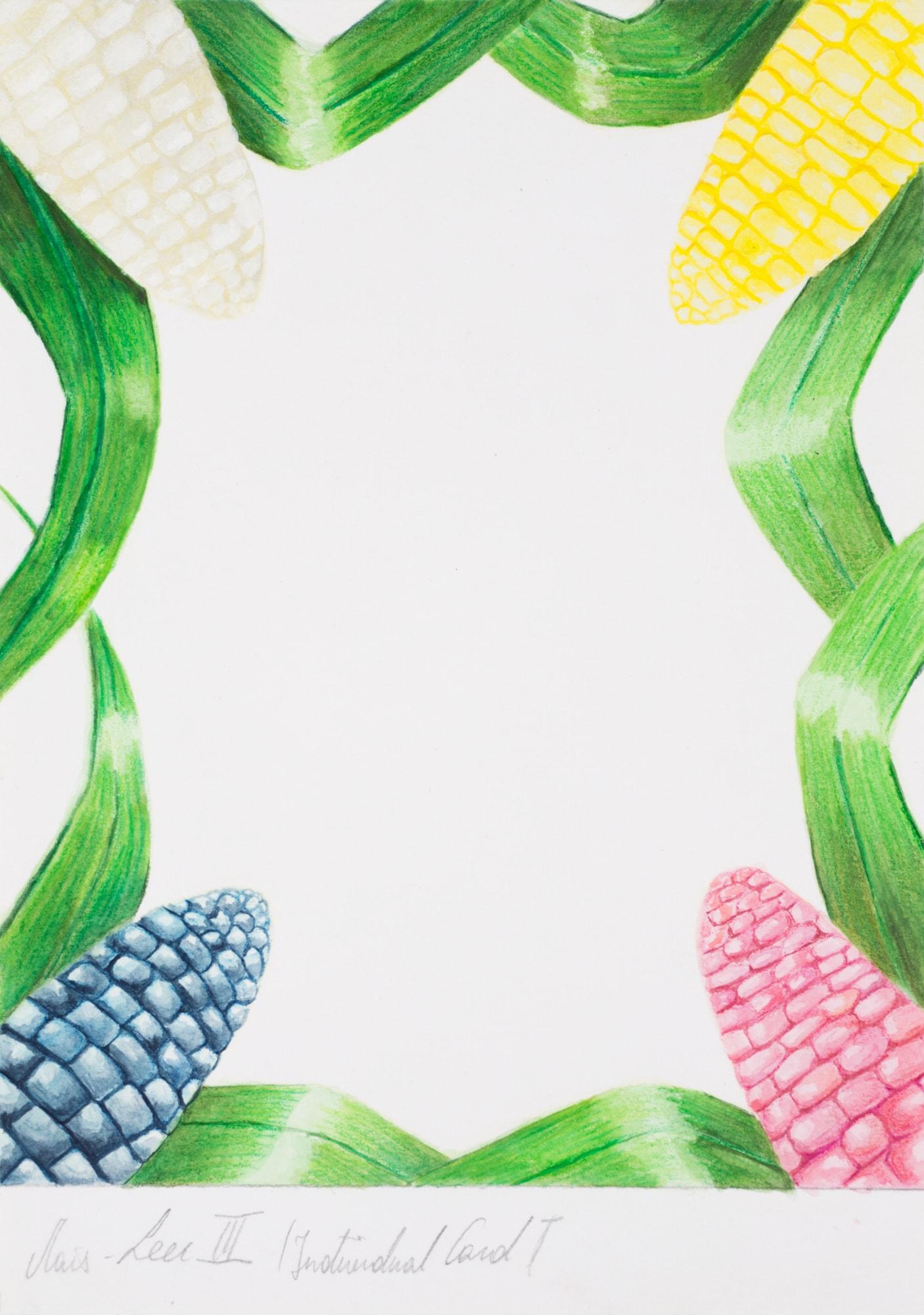 Zeichnung, Gouache und Farbstift auf Papier, 14,8x21cm, Entwurf für Tarotkarte, Künstlerin: Franziska King