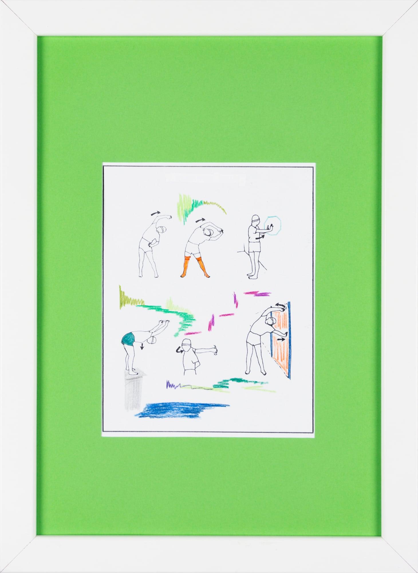 Übermalung und Mischtechnik auf Papier, 12,4x16cm, Originalgrafik zum gleichnamigen Booklet, Künstlerin: Franziska King