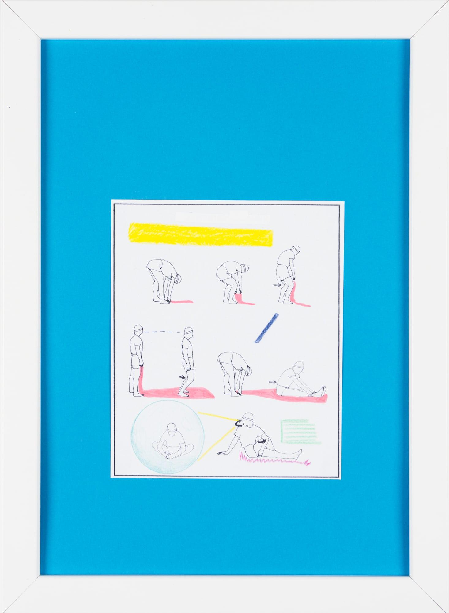 Übermalung und Mischtechnik auf Papier, 12,6x15,2cm, Originalgrafik zum gleichnamigen Booklet, Künstlerin: Franziska King